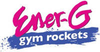 'Ener-G Gym Rockets' game logo