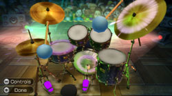 Drum set in 'Wii Music'