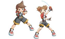 Boy and girl ranger in 'Pokémon Ranger: Shadows of Almia'