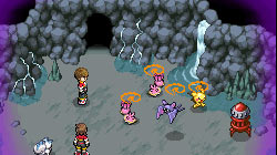 Captured pokémon following you in 'Pokémon Ranger: Shadows of Almia'
