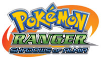 'Pokémon Ranger: Shadows of Almia' game logo