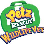 'Petz Rescue Wildlife Vet' game logo
