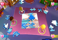 The big puzzle game in 'Imagine Party Babyz'