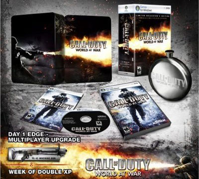 Amazon.com: Call of Duty World at War Collector's Edition