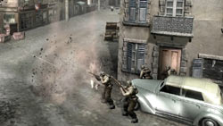 House to house infantry combat in 'Company of Heroes: Tales of Valor'
