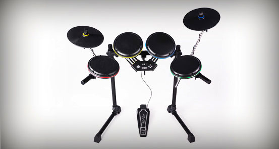 Amazon Com Ion Ied07 Premium Rock Band Drum Kit For Xbox