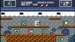 'Haggleman' screenshot from 'Retro Game Challenge' for DS