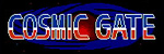'Cosmic Gate' logo from 'Retro Game Challenge' for DS