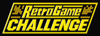 'Retro Game Challenge' game logo