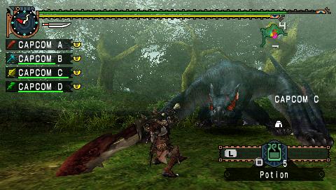 Скачать Игру Monster Hunter Freedom Unite - фото 2