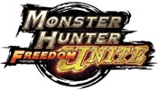 'Monster Hunter Freedom Unite' game logo