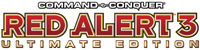 'Command & Conquer: Red Alert 3 Ultimate Edition' game logo