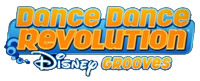 'DanceDanceRevolution Disney Grooves' game logo