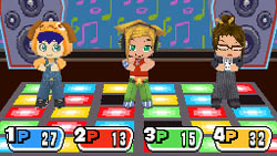 DDR-like gameplay in 'MySims Party'