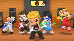 Music-based gameplay in 'MySims Party'