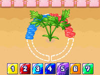 Mini-game in 'Gardening Mama'