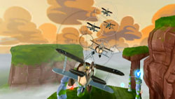 Dog Fight mode in 'UP' The Video Game