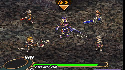 Strategic team combat against enemies in 'Valkyrie Profile: Covenant of the Plume'