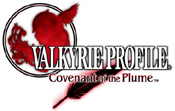 'Valkyrie Profile: Covenant of the Plume' game logo