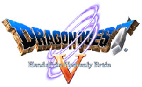 'Dragon Quest V: Hand of the Heavenly Bride' game logo
