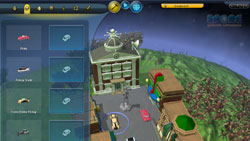 City/civilization building abilities 'SPORE Galactic Adventures'