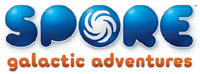 'SPORE Galactic Adventures' game logo