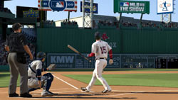 Swatting a home run in 'MLB 09: The Show'