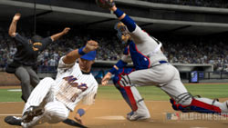 Stealing home in 'MLB 09: The Show'