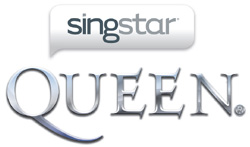 'SingStar Queen' for PS3 game logo