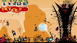 Improved Fever alert function in 'Patapon 2'