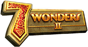 '7 Wonders II' for DS game logo