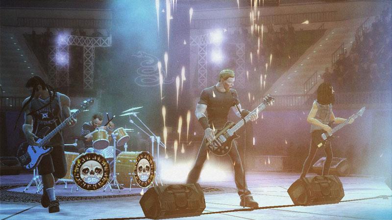 Amazoncom Guitar Hero Metallica Playstation 2 Video Games