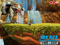 DS platforming fun in 'Ice Age: Dawn of the Dinosaurs'