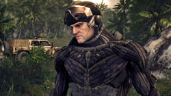 Sergeant 'Psycho' Sykes in 'Crysis Maximum Edition'