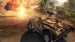 Multiplayer vehicle combat in 'Crysis Maximum Edition'