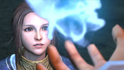 Staring into a flame of mana in 'The Last Remnant'