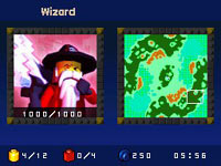 The Wizard playable character in 'LEGO Battles'
