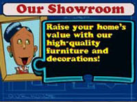 Buying furniture for your own home with the money earned in-game in Our House for DS