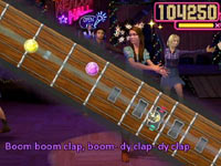 Rhythm gameplay 'Walt Disney Pictures Presents Hannah Montana The Movie'