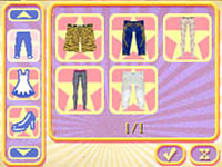 Customizing Hannah's look in 'Walt Disney Pictures Presents Hannah Montana The Movie'