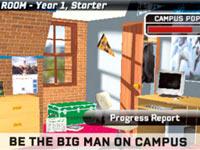 College dorm room in 'NCAA Football 10'