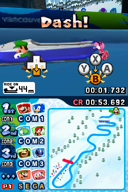 & Sonic at the Winter Olympic Games - Nintendo DS Standard Edition