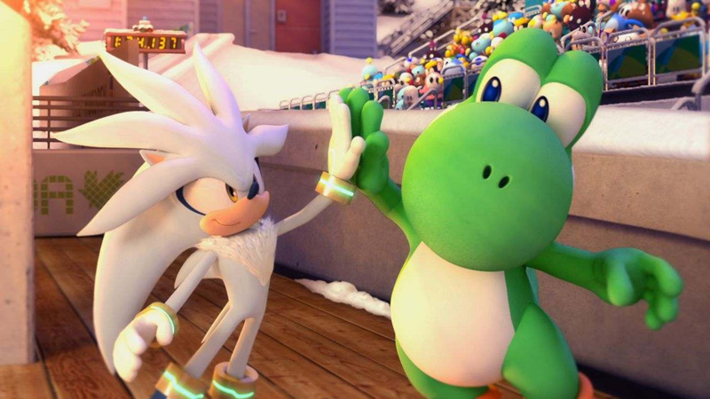 Amazon.com: Mario and Sonic at the Olympic Winter Games - Nintendo Wii