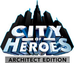 'City of Heroes Architect Edition' game logo