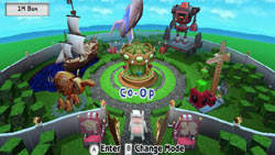 Co-op gameplay screen in 'BOOM BLOX Bash Party'