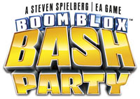 'BOOM BLOX Bash Party' game logo