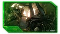 Alien Battles a Predator