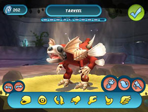 Spore character creator functionality in 'Spore Hero'