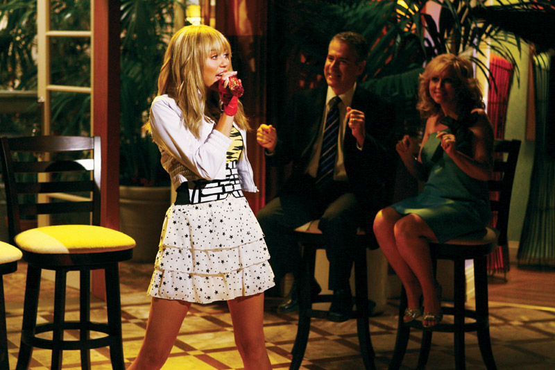 One of three hannah montana tv episodes included with the playstation