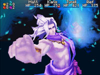 Summoning a Djinn in Golden Sun: Dark Dawn